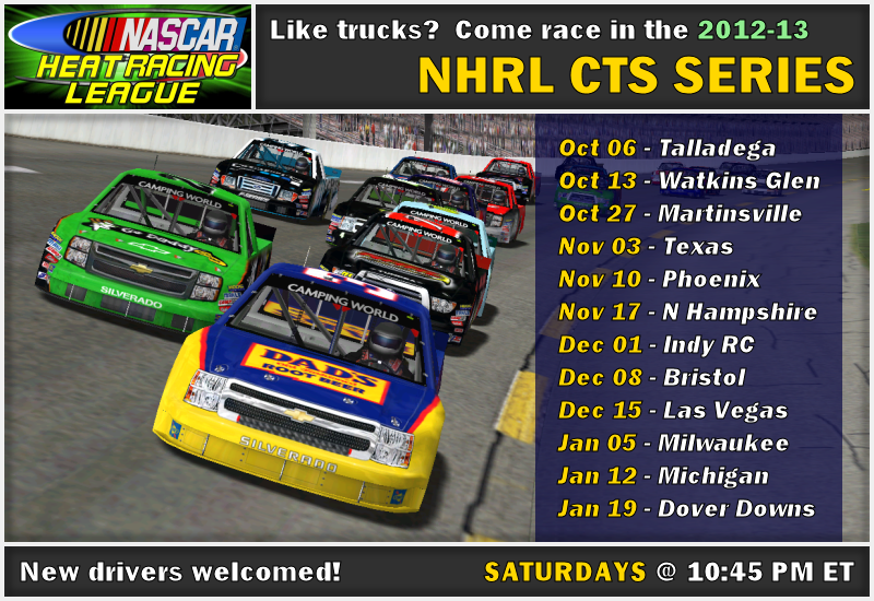NHRL Truck Series 2012 - 2013 2012-13%20cts%20series%20poster