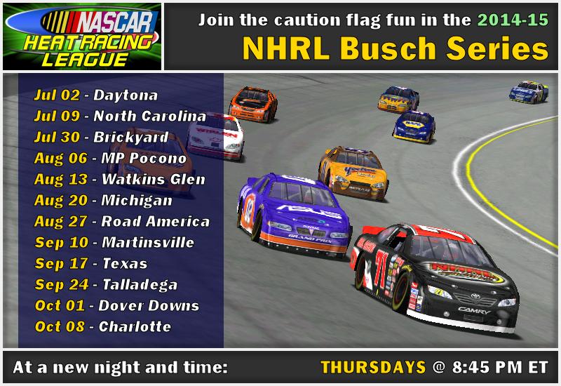 2014-15 NHRL Busch Series